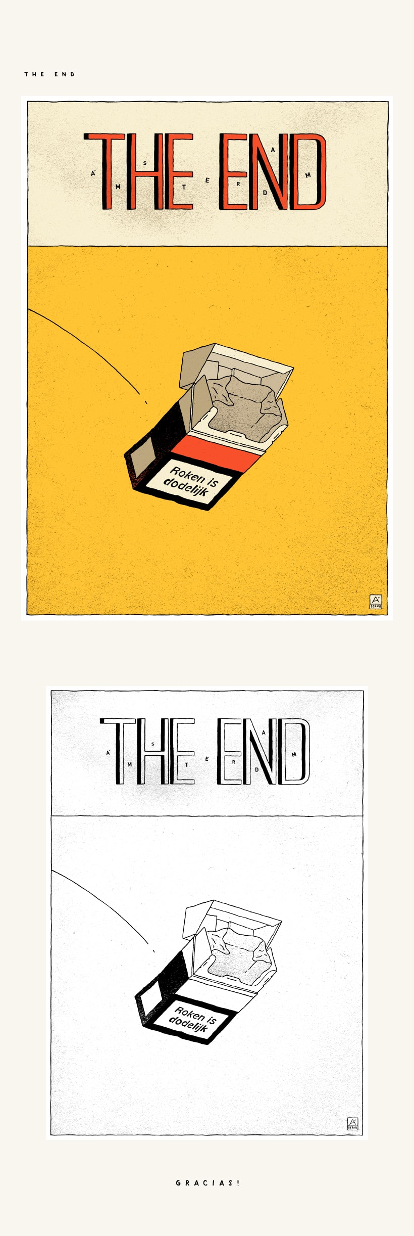THE END 0