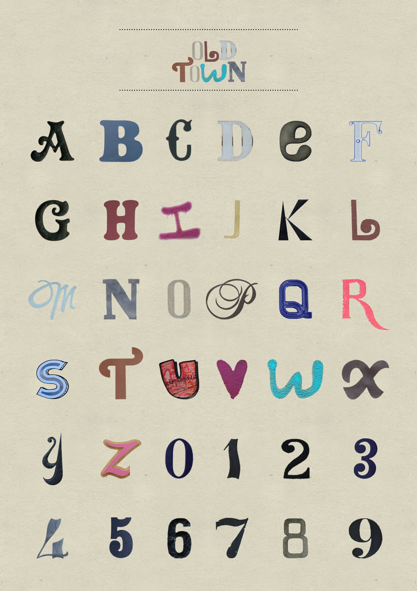OldTown typeface 8