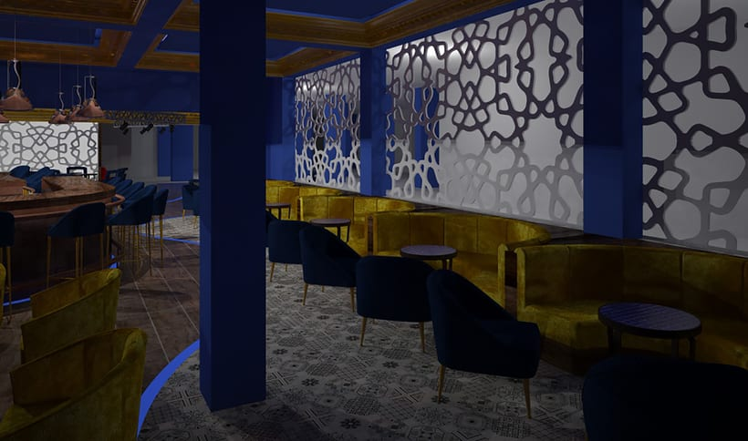 Proyecto casino bar flamboyan punta cana rep blica for Proyecto interior