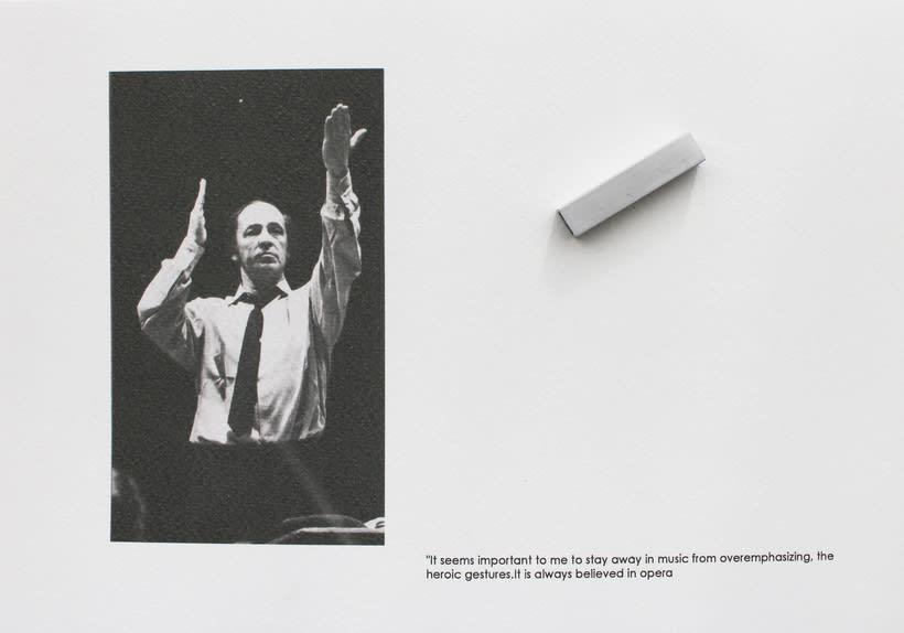 Boulez conducted in Bayreuth 1976, 2016. Se localiza en un anticuario de la ciudad de Bayreuth, un libro sobre la producción Del Anillo de Boulez y Chereau en el Festspielhaus de Bayreuth en 1976. -1