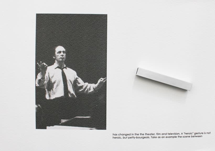 Boulez conducted in Bayreuth 1976, 2016. Se localiza en un anticuario de la ciudad de Bayreuth, un libro sobre la producción Del Anillo de Boulez y Chereau en el Festspielhaus de Bayreuth en 1976. 1