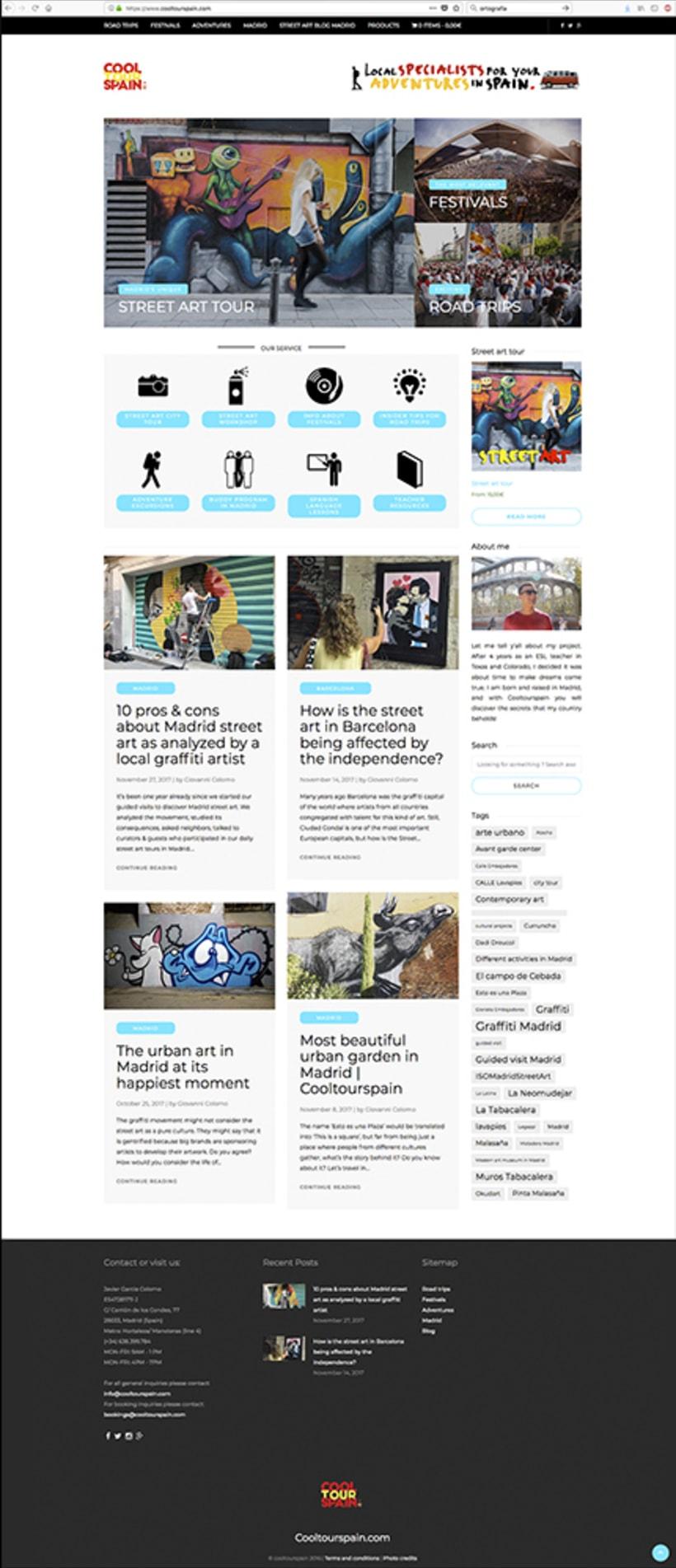 Cooltourspain espacio web. 0