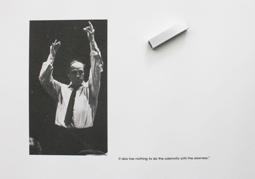 Boulez conducted in Bayreuth 1976, 2016. Se localiza en un anticuario de la ciudad de Bayreuth, un libro sobre la producción Del Anillo de Boulez y Chereau en el Festspielhaus de Bayreuth en 1976. 4