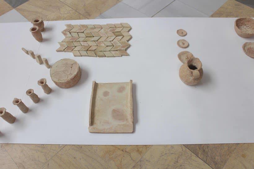 Barro y narración. Proyecto sobre investigación cerámica en la población de Requena, a partir de barro procedente de una empresa local ladrillera -1