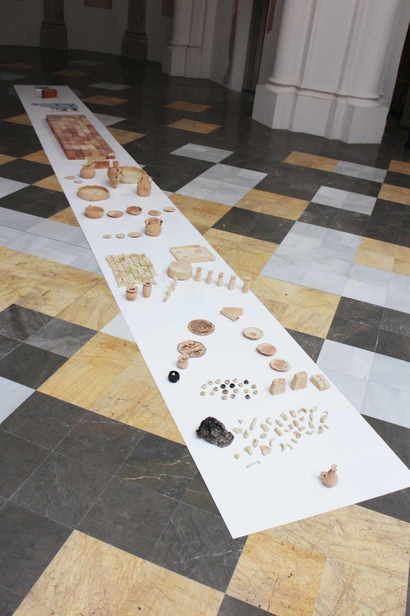 Barro y narración. Proyecto sobre investigación cerámica en la población de Requena, a partir de barro procedente de una empresa local ladrillera 1