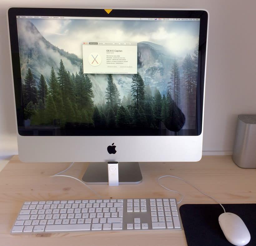 """VENDIDO!! iMac 24"""" con SSD 1"""