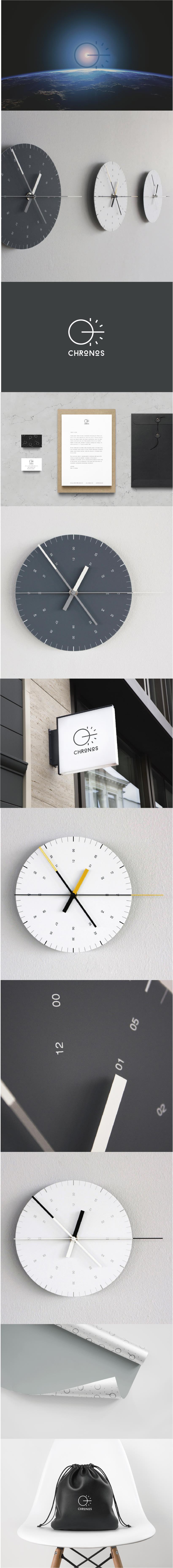 Identidad corporativa relojes CHRONOS -1