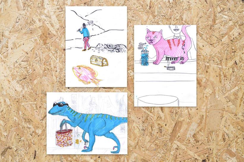 Ilustraciones en el no tiempo -1