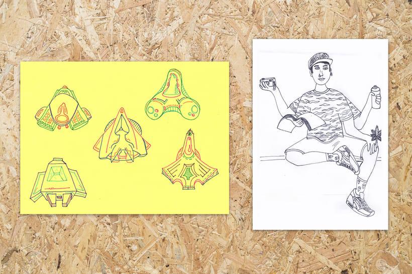 Ilustraciones en el no tiempo 1