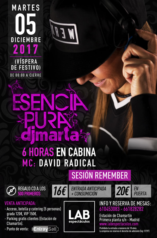 Imagen Fiesta Esencia Pura 2017 DJ Marta -1