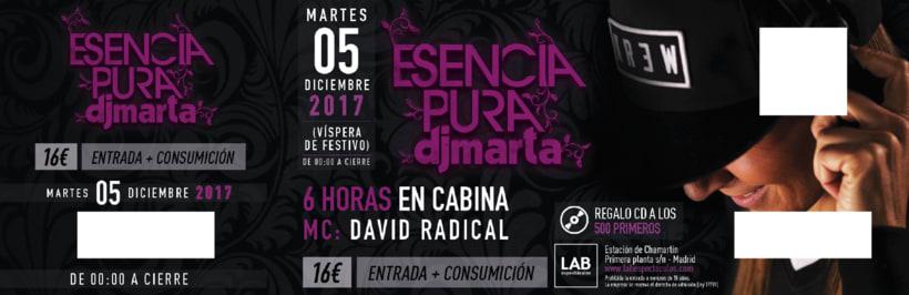 Imagen Fiesta Esencia Pura 2017 DJ Marta 0