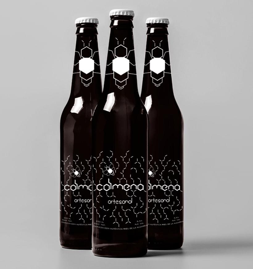 Colmena. Cerveza con un toque de miel 0
