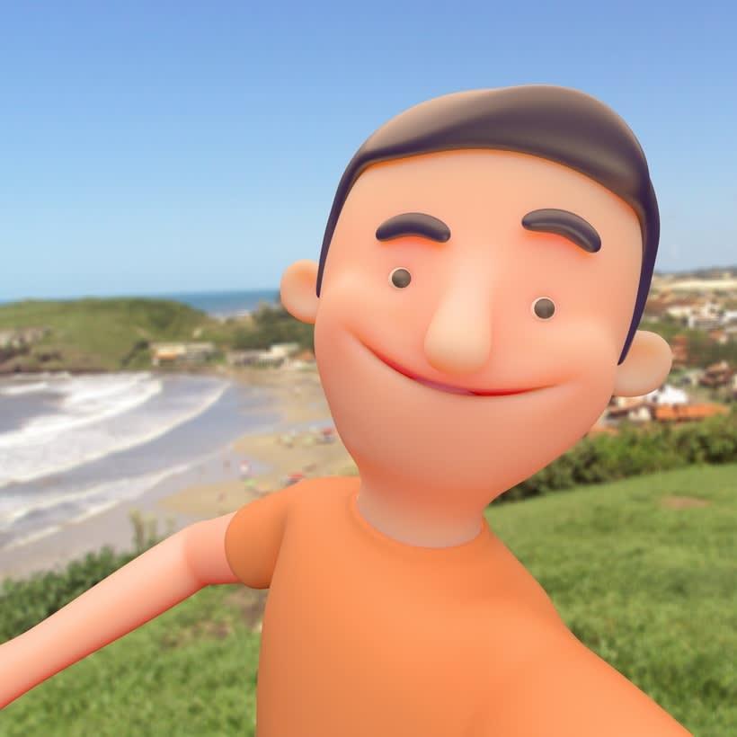 Mi Proyecto del curso: Rigging: articulación corporal de un personaje 3D  3