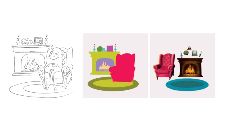 Ilustración Libro Infantil 'Teikirizi & Pa'lante y la estrella de los sueños' 6