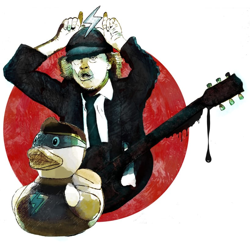 Angus Young. AC/DC. -1