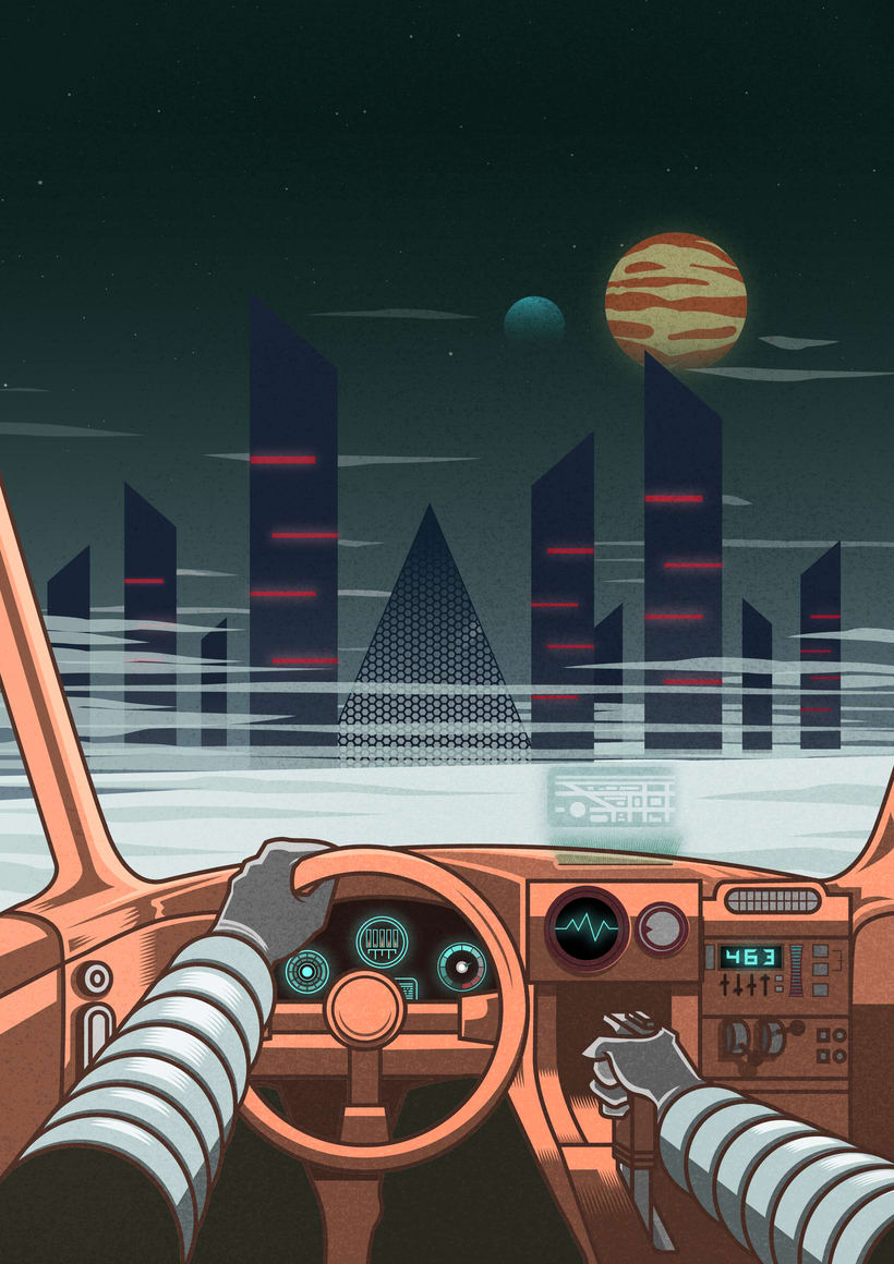 Retrowave art 3