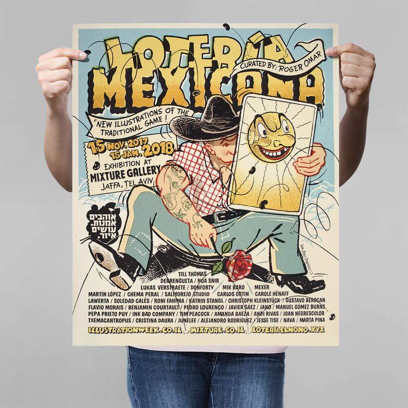 Lotería Mexicana Poster 0