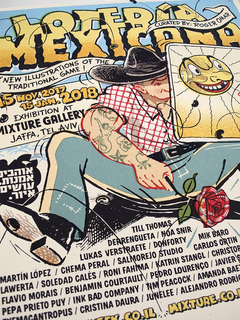 Lotería Mexicana Poster 2