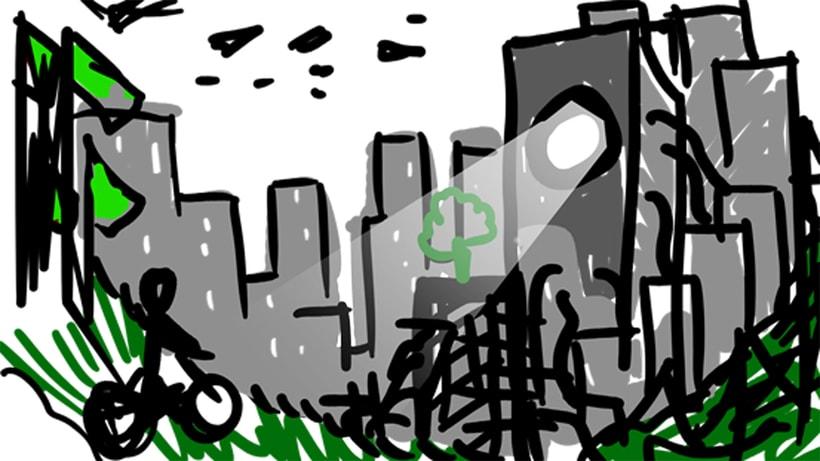 Mi Proyecto del curso: Iniciación al concept art: diseñando el futuro 5