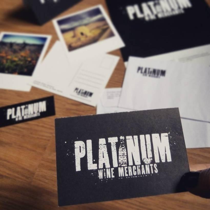 PLATINUM Wine Merchants - Identidad Corporativa 0