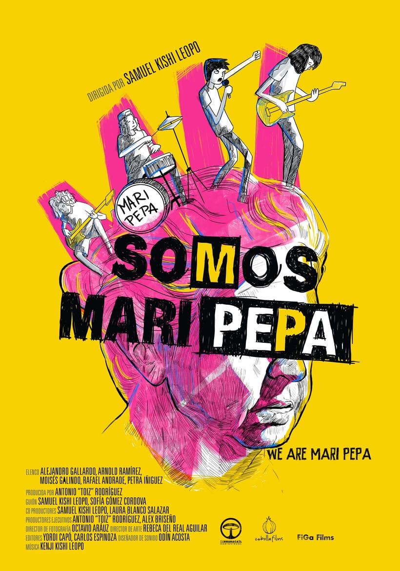 """Cartel para la película """"Somos Maripepa"""" Nuevo proyecto 0"""