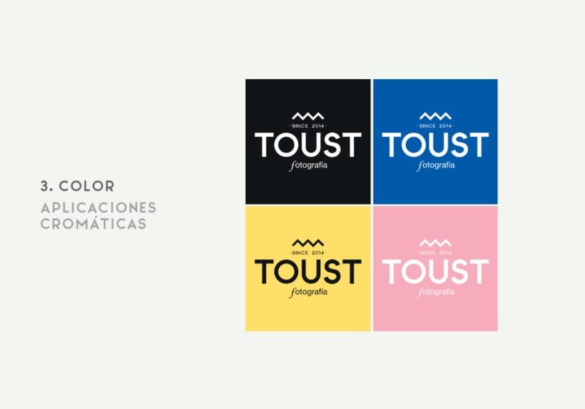 Rediseño de identidad   Toust Fotografía  7