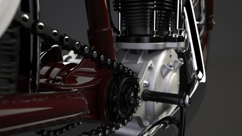 Crocker speedway motorcycle 3Dmodel 1