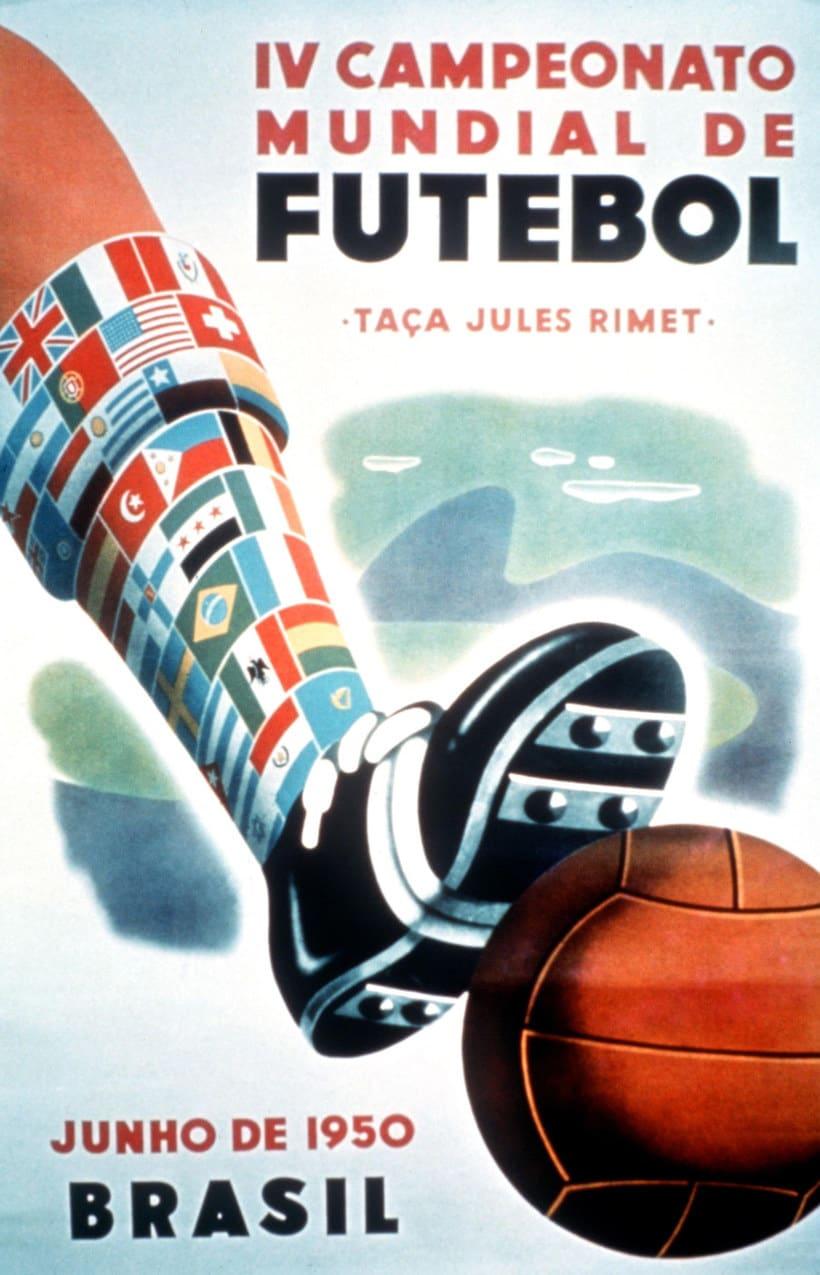 Los carteles de la Copa Mundial de Fútbol de 1930 a 2018 7