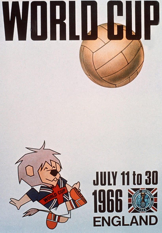 Los carteles de la Copa Mundial de Fútbol de 1930 a 2018 9
