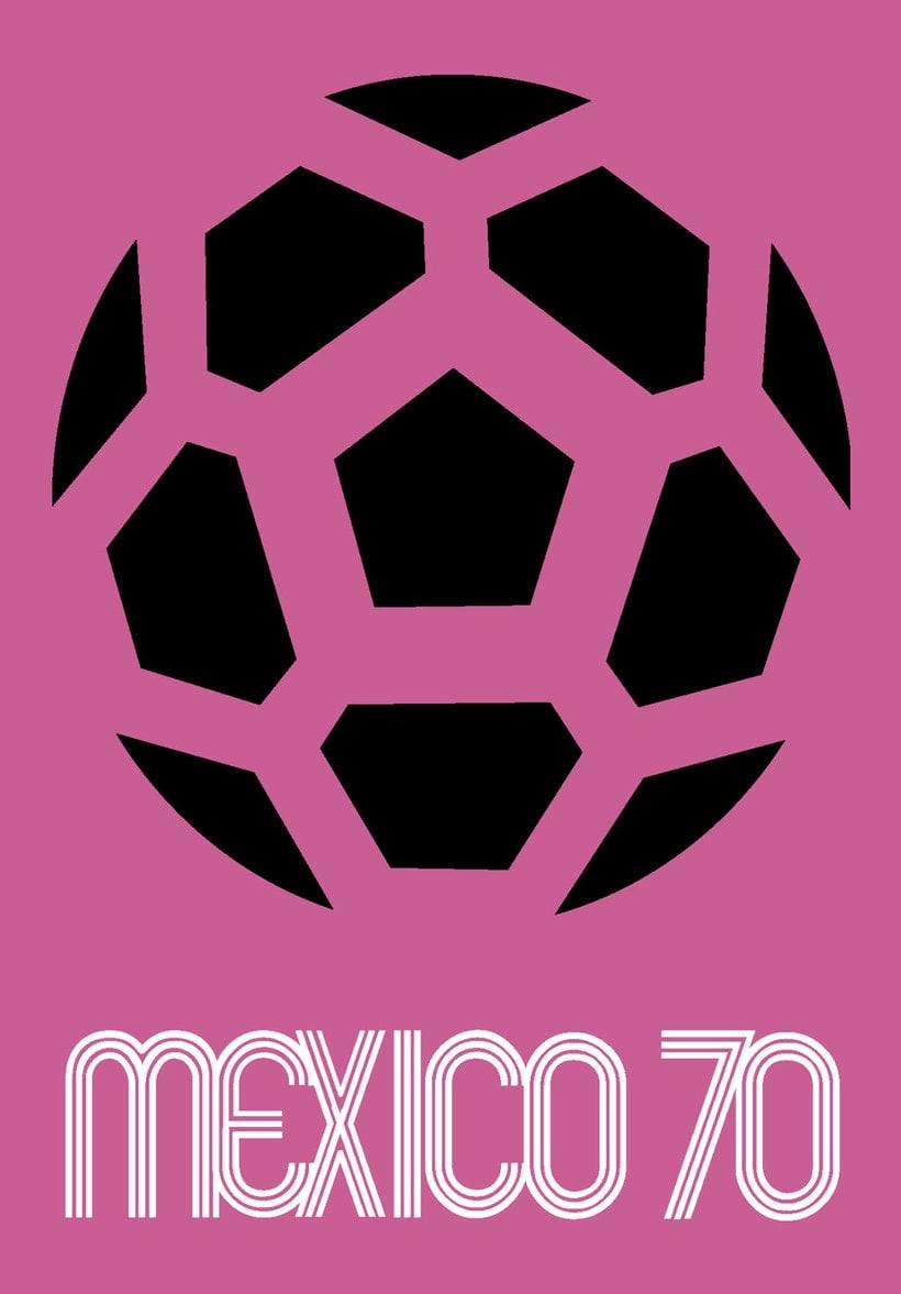 Los carteles de la Copa Mundial de Fútbol de 1930 a 2018 13