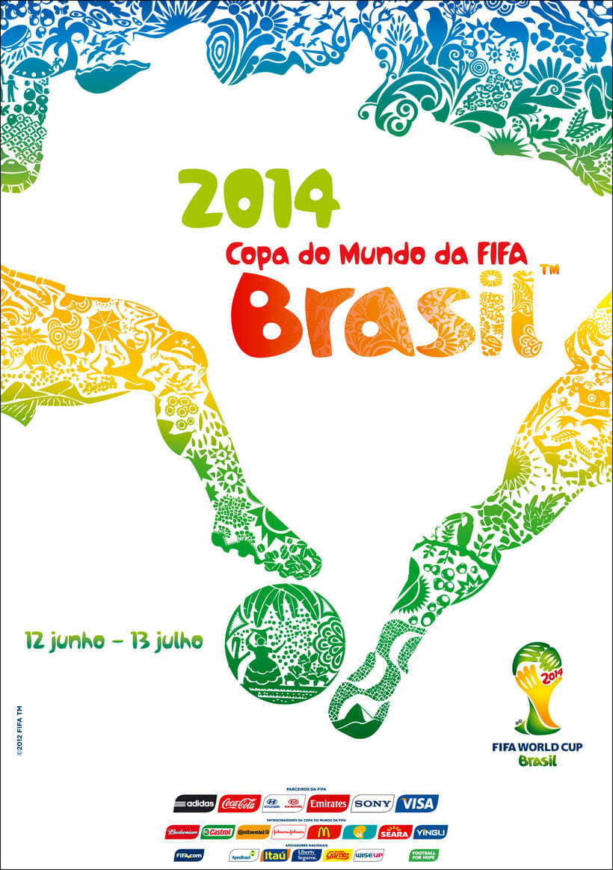 Los carteles de la Copa Mundial de Fútbol de 1930 a 2018 25