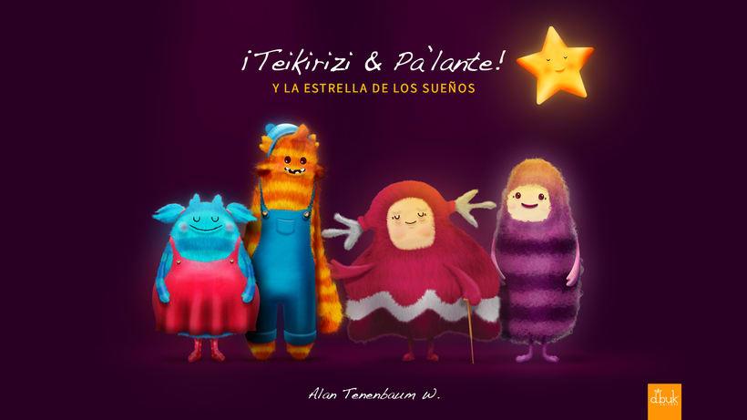 Ilustración Libro Infantil 'Teikirizi & Pa'lante y la estrella de los sueños' 10
