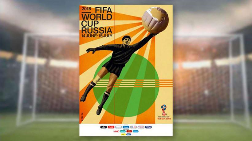 Los carteles de la Copa Mundial de Fútbol de 1930 a 2018 1