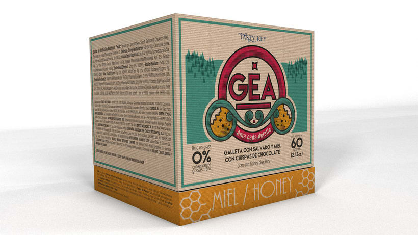 GEA (galletas) : Packaging design 0