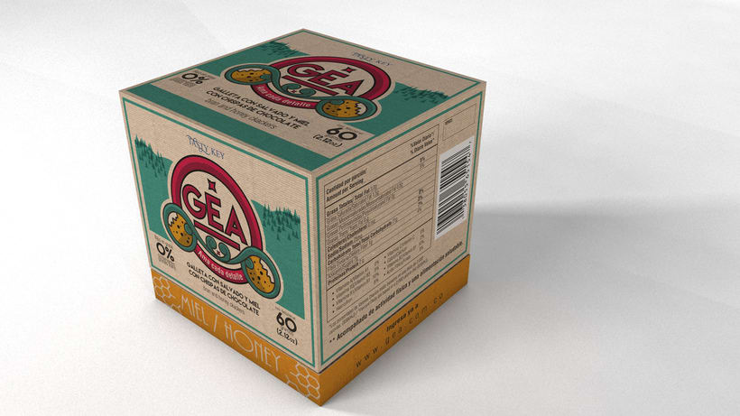 GEA (galletas) : Packaging design 1
