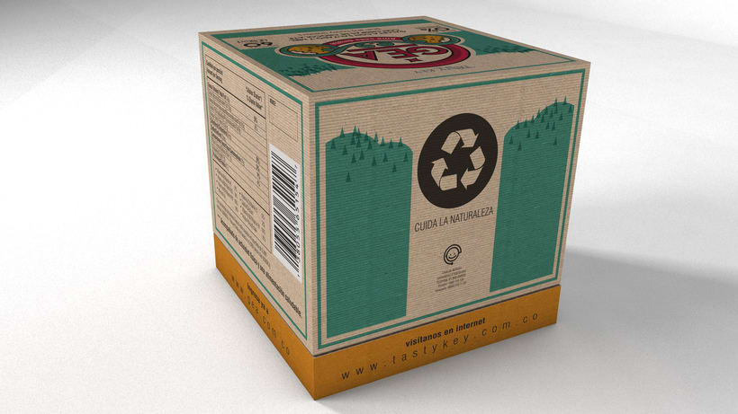GEA (galletas) : Packaging design 2