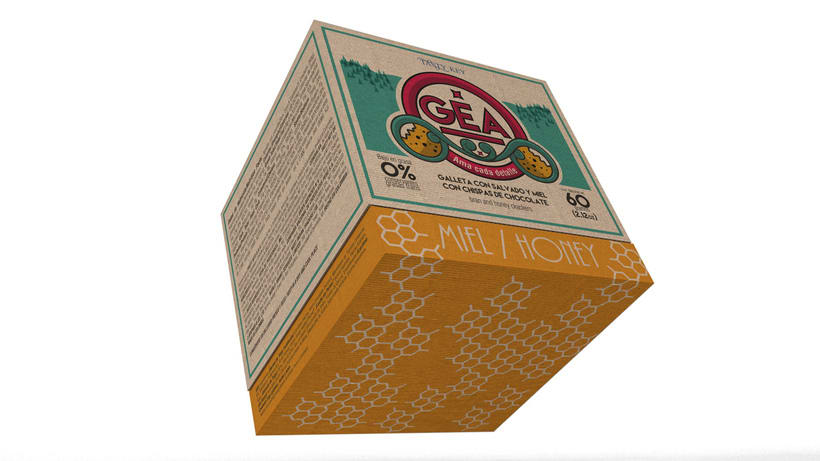 GEA (galletas) : Packaging design 3