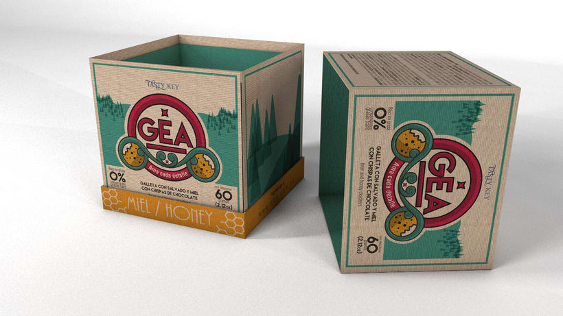 GEA (galletas) : Packaging design 4