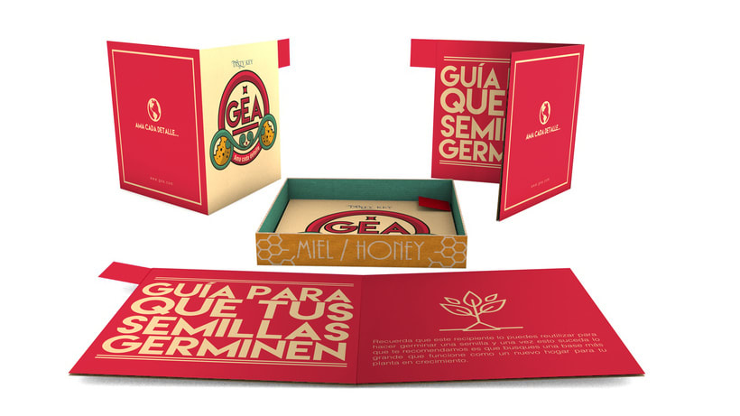 GEA (galletas) : Packaging design 5
