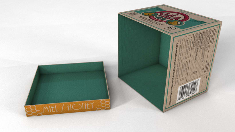 GEA (galletas) : Packaging design 7