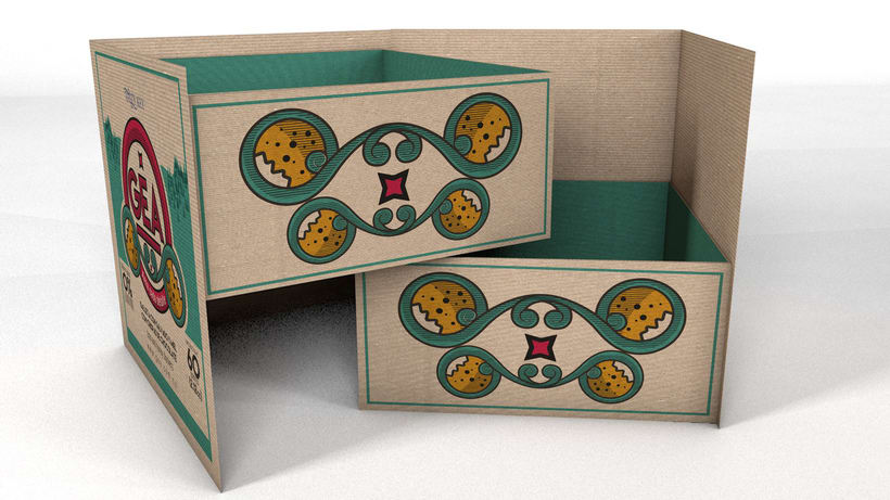 GEA (galletas) : Packaging design 8