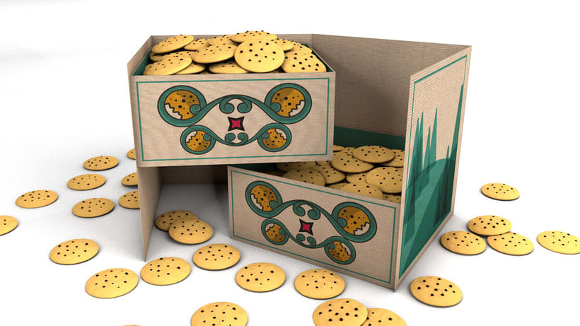 GEA (galletas) : Packaging design 13