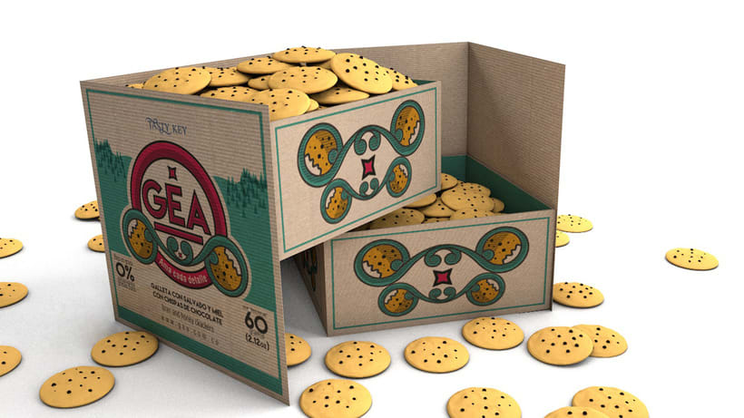 GEA (galletas) : Packaging design 14