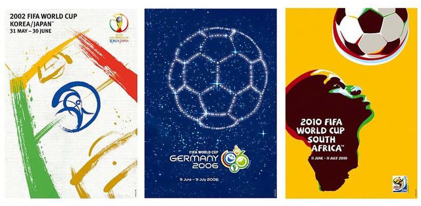 Los carteles de la Copa Mundial de Fútbol de 1930 a 2018 23