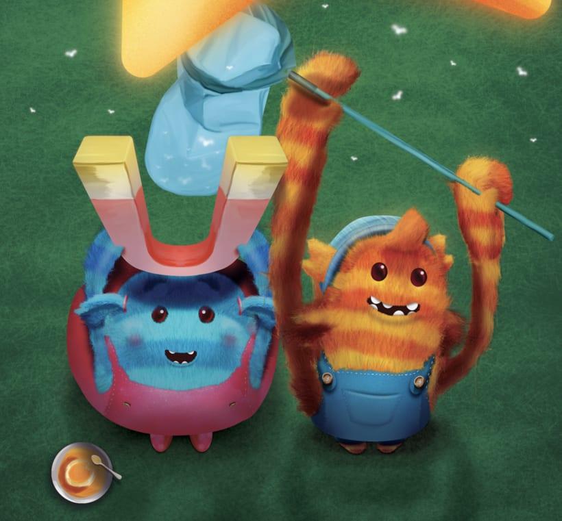 Ilustración Libro Infantil 'Teikirizi & Pa'lante y la estrella de los sueños' 5