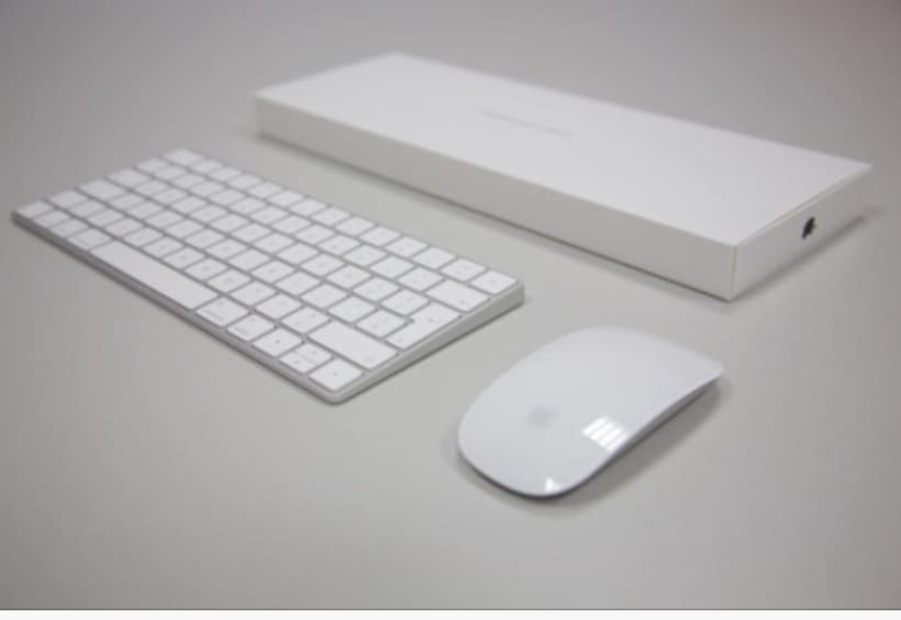 Magic Mouse 2 + Magic Keyboard 1