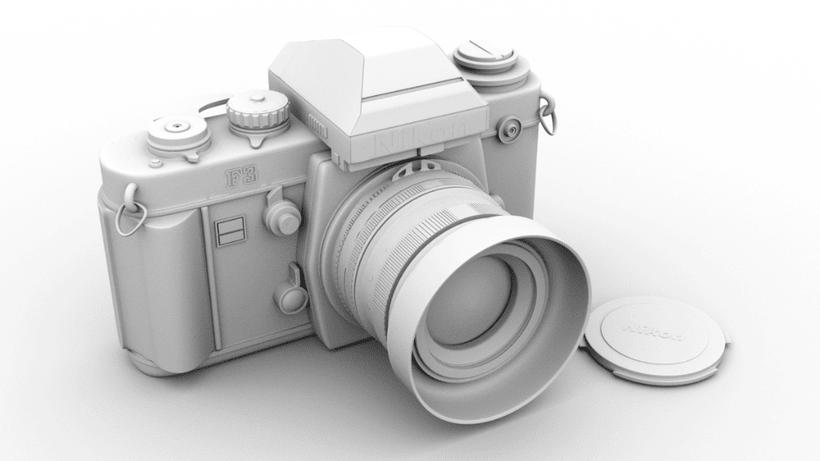 Proyecto 3D - Cámara Nikon FM2  0