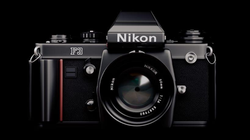 Proyecto 3D - Cámara Nikon FM2  1