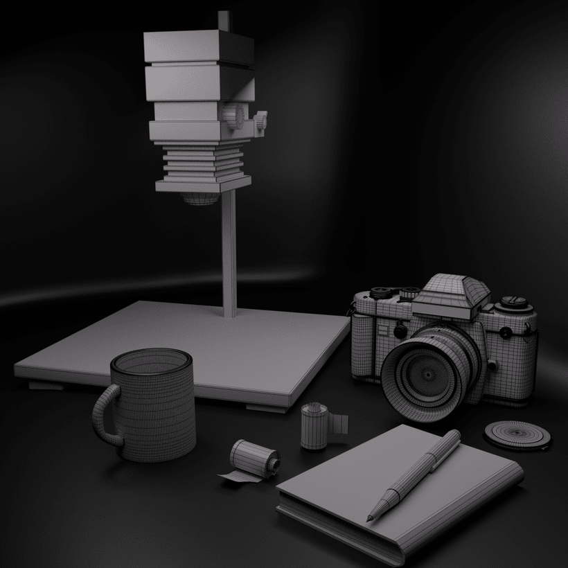 Laboratorio fotográfico 3D  -1