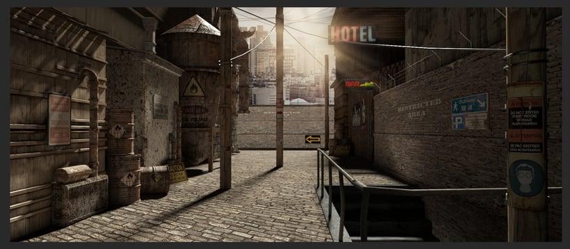 3D Environtment - Street -1